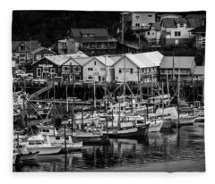 The Village Pier Fleece Blanket