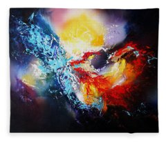 The Vortex Fleece Blanket