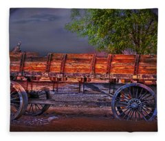 The Wagon Fleece Blanket