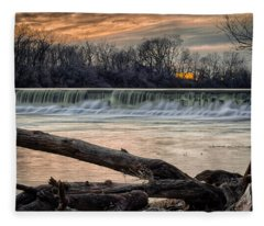 The White River Fleece Blanket