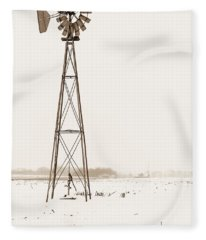 The Windmill Fleece Blanket