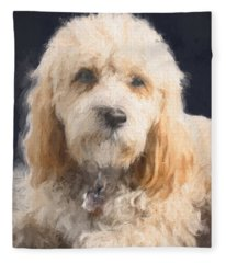 The Wink Fleece Blanket