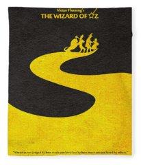 The Wizard Of Oz Fleece Blanket