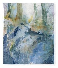 The Wood Fleece Blanket