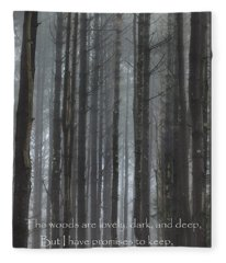 The Woods Fleece Blanket