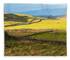The Yorkshire Dales Fleece Blanket