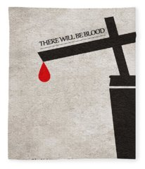 There Will Be Blood Fleece Blanket