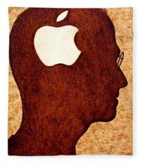 Think Different Tribute To Steve Jobs Fleece Blanket
