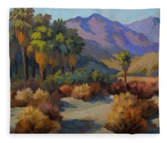 Thousand Palms Fleece Blanket
