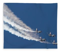 Thunderbird Loop Fleece Blanket