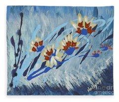 Thunderflowers Fleece Blanket