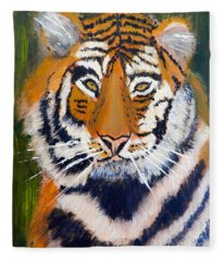 Tiger Fleece Blanket