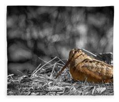 Timber Doodle Fleece Blanket