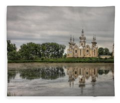 Time To Reflect Fleece Blanket