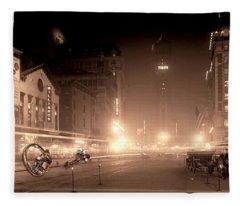 Timesquare 1911 Reloaded Fleece Blanket