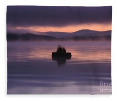 Timothy Lake Serenity Fleece Blanket