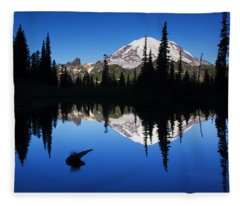 Tipsoo Sunrise Fleece Blanket