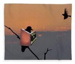 To Kill A Mockingbird Fleece Blanket