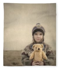 Together They Dream Into The Evening Fleece Blanket