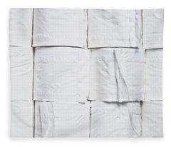 Toilet Paper Fleece Blanket