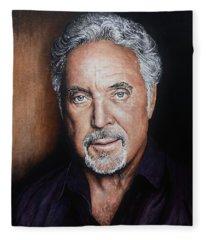 Tom Jones The Voice Fleece Blanket