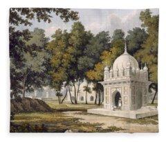 Tombs Near Etaya, From A Picturesque Fleece Blanket