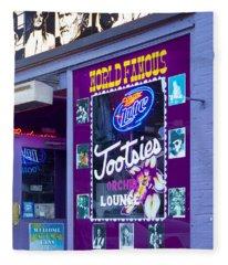Tootsies Nashville Fleece Blanket