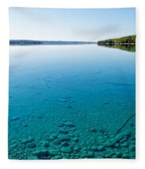 Torch Lake Fleece Blanket