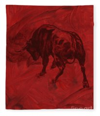 Toro Painting Fleece Blanket