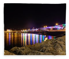 Torquay Lights Fleece Blanket
