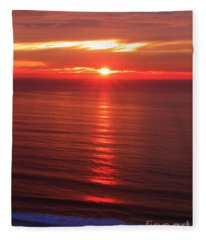 Torrey Pines Starburst Fleece Blanket