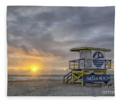 Touch A New Day Fleece Blanket
