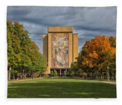 Touchdown Jesus Fleece Blanket