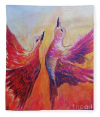 Towards Heaven Fleece Blanket