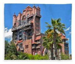 Tower Of Terror Fleece Blanket