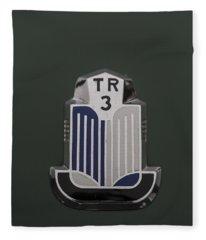 Tr3 Hood Ornament 2 Fleece Blanket