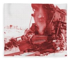 Train V Car Fleece Blanket