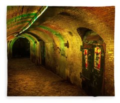 Trajectum Lumen Project. Ganzenmarkt Tunnel 1. Netherlands Fleece Blanket