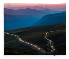 Transalpina Fleece Blanket