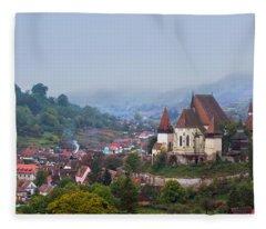 Transylvania Fleece Blanket