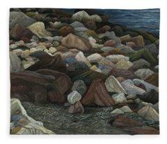Treasure Stones Fleece Blanket