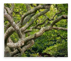 Tree #1 Fleece Blanket