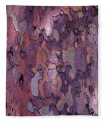 Tree Abstract Fleece Blanket