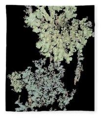 Tree Fungus Fleece Blanket