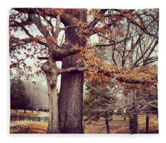 Tree Hugging Fleece Blanket