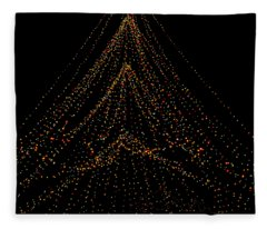 Tree Of Lights Fleece Blanket