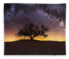 Milky Way Fleece Blankets