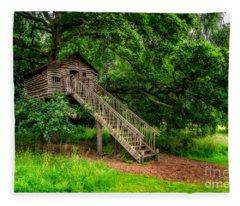 Treehouse Fleece Blanket