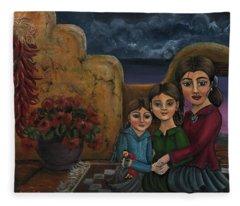 Tres Mujeres Three Women Fleece Blanket