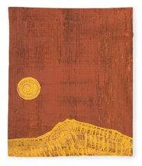 Tres Orejas Original Painting Fleece Blanket